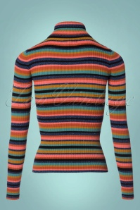 King Louie Turtleneck Striped Glitter Top 113 39 21351 20170811 0003W