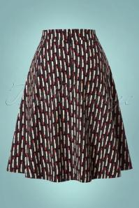 Mademoiselle yeye Josephine Swing Lipstick Skirt 122 14 21593 20170802 0006W