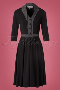 Miss Candyfloss Black Swing Dress 102 10 22144 20170817 0017W