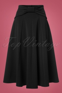 Miss Candyfloss Black Bow Swing Skirt 122 40 22149 20170816 0005