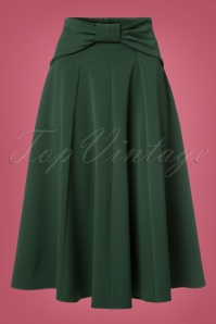 Miss Candyfloss Green Bow Swing Skirt 122 40 22137 20170816 0012W