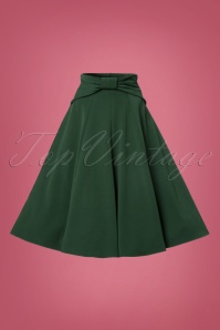 Miss Candyfloss Green Bow Swing Skirt 122 40 22137 20170816 0002W