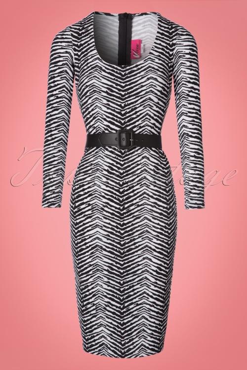 Vixen by Micheline Pitt Frisky Fetish Collection Zebra Print Dress 100 59  21938 20170817 0003W da1d49ca9