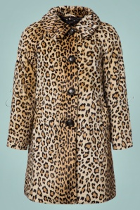 King Louie Betty Coat in Leopard 152 58 21348 20170810 0002W