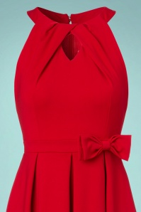 Lindy Bop Cherel Red Bow Dress 102 20 22884 20170821 0002V