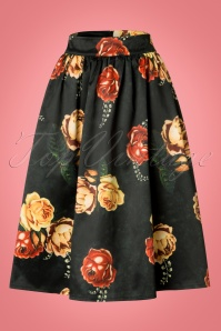 Vixen Marigold Gathered Flare Skirt 22020 20170515 0002W