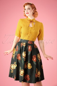 Vixen Marigold Gathered Flare Skirt 22020 20170515 01W