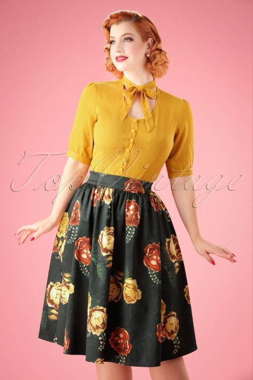 Vixen Marigold Gathered Flare Skirt 22020 20170515 01W