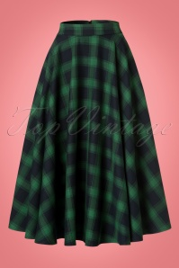 Vixen Marienne Green Full Circle Skirt 22022 20170516 0003W