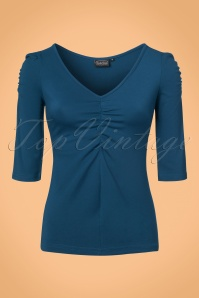 Vixen Von Teese Shirt in Blue 113 30 22036 20170821 0003w
