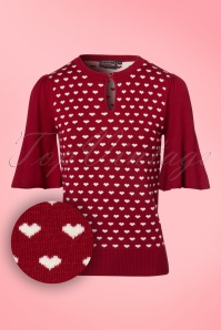 Vixen Maggie Red Hearts Top 113 27 22053 20170822 0002W1