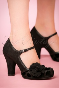 Ruby Shoo Hannah Pump Black 402 10 21427 model 17082017 004W