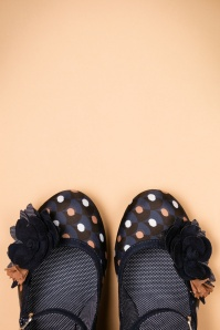Ruby Shoo Dee Pumps Navy Spots 402 39 21423 16082017 003