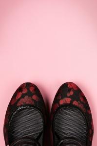 Ruby Shoo Laura Pump Black Red 402 14 21419 16082017 003