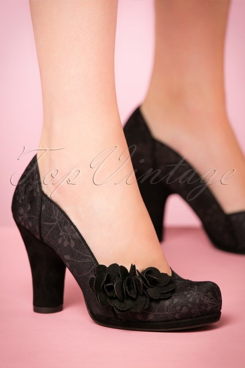 Ruby Shoo Charlotte Pumps Black 400 10 21415 model 17082017 002W