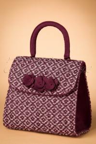 Ruby Shoo Bari Burgundy Handbag 212 27 21432 20170817 0004w