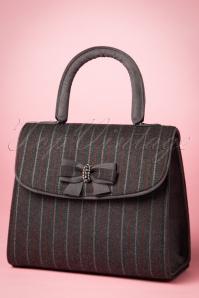 Ruby Shoo Saigon Pinstripe Handbag 212 14 21431 20170816 0027w