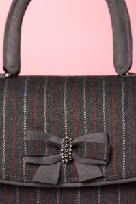 Ruby Shoo Saigon Pinstripe Handbag 212 14 21431 20170816 0022c