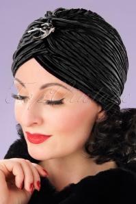 Vixen Black Velvet Turban 202 10 22084 17062013 004W