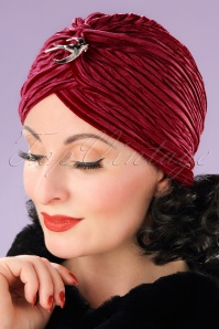 Vixen Red Velvet Turban 202 20 22085 17062013 005W