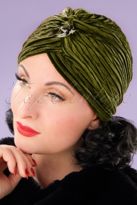 Vixen green turban sample 05232017 model02W