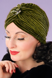 Vixen green turban sample 05232017 model01W