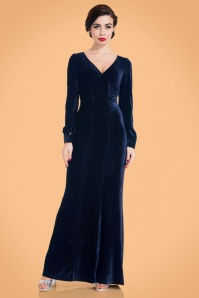 Vixen Nicki Maxi Dress in Navy 108 31 22024 24082017 005