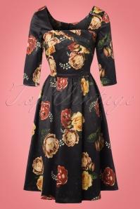 Vixen 50s Meg Floral Dress 102 14 22003 20170823 0002W