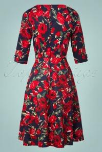 Vixen Rose Floral Red Dress 102 39 22016 20170823 0008W