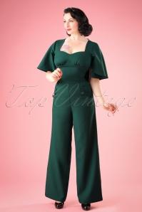 Vixen Esmeralda Jumpsuit in Green 133 40 22061 20161005 1W