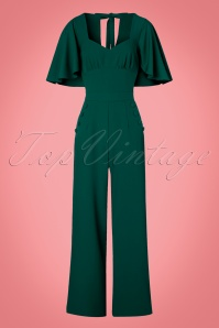 Vixen Esmeralda Jumpsuit in Green 133 40 22061 20161005 0005w