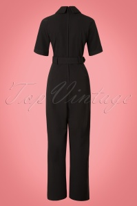 Collectif Clothing Zoe Jumpsuit in Black 21830 20170612 0008W