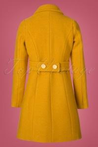 King Louie Laura Coat Veggie in Honey Yellow 152 80 21382 20170830 0006W