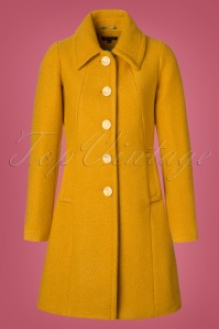 King Louie Laura Coat Veggie in Honey Yellow 152 80 21382 20170830 0001W