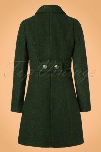 King Louie Laura Coat Veggie in Forest Green 152 40 21381 20170830 0008W