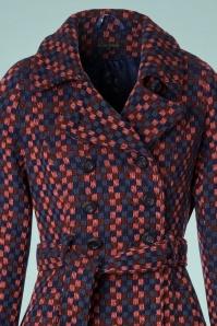King Louie Simone Coat in Dark navy 152 39 21360 20170830 0001V