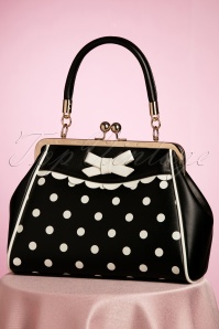 Crazy Little Thing Bag Années 50 en Noir