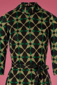 King Louie Dita Dress Kaleido Gold and Green 100 14 21346 20170830 0001c