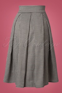 Banned Izzy Midi Houndstooth Skirt 122 14 22374 20170828 00101W