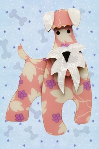 Erstwilder The Schnauzer And Klaus Brooch Cream White Box 340 22 23029 2