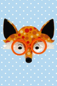 Erstwilder Oscar Wildenfox Brooch Orange Yellow Front 23030 1