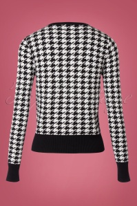 Banned Houndstooth Cardigan 140 14 22389 20170828 0007W