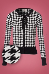 Banned Houndstooth Cardigan 140 14 22389 20170828 0002W1