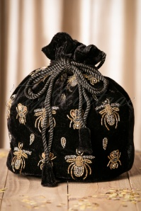 Darling Divine Black Velvet bag 212 14 22201 06062017 009