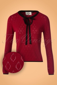 Banned Red Bow Blouse 112 20 22395 20170828 0013w1