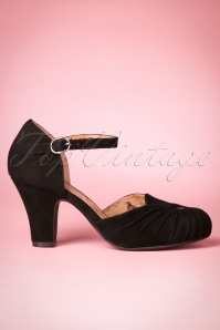 Miss L Fire Amber Mary Pump in Black 402 10 21256 20170907 0005w