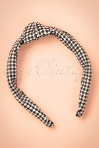Dancing Days by Banned Jessie Headband in Black and white  208 14 22228 20170828 0002w