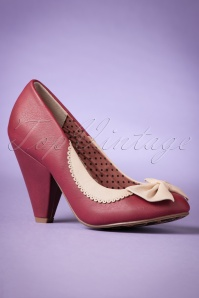 Bettie Page  Bailey Burgund Pumps 400 20 21498 20170908 0003w