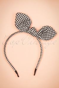 Dancing Days by Banned Arabella Headband in Black and white  208 14 22227 20170828 0002w