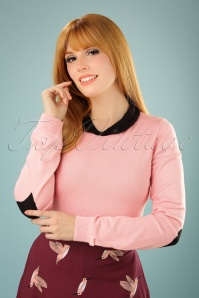 Mademoiselle yeye Nelly Jumper in Blush 113 22 21590 20170802 0009W